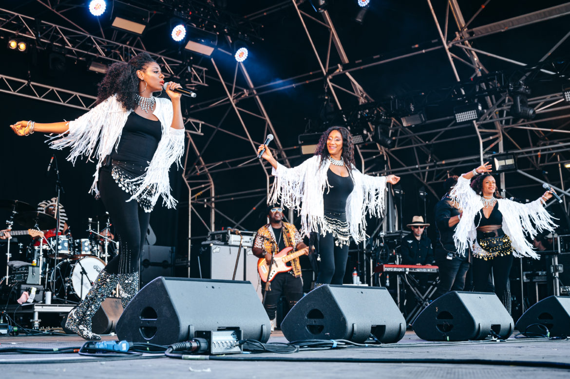 "The BackBeat R&B Spotlight Is On Debbie & Camille of the Legendary""Sister Sledge"""